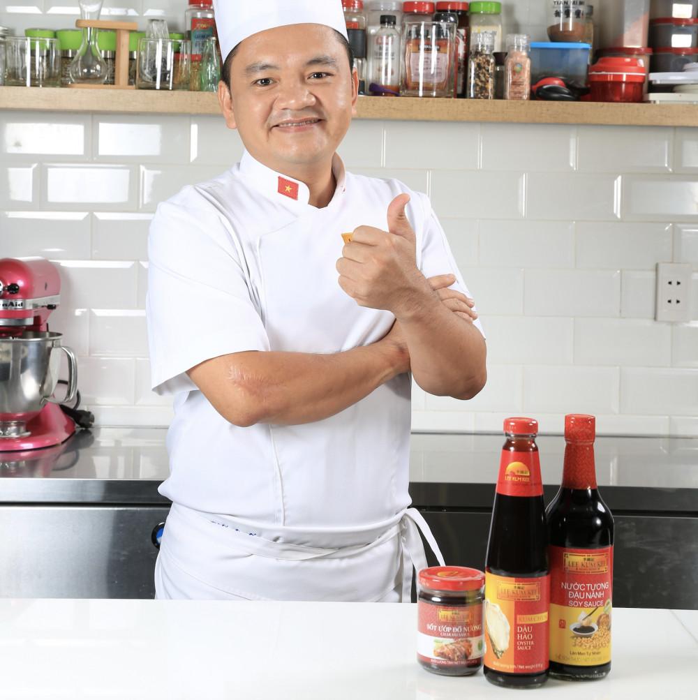 Bộ ba sản phẩm của Lee Kum Kee được giới đầu bếp tin dùng. Ảnh: Lee Kum Kee