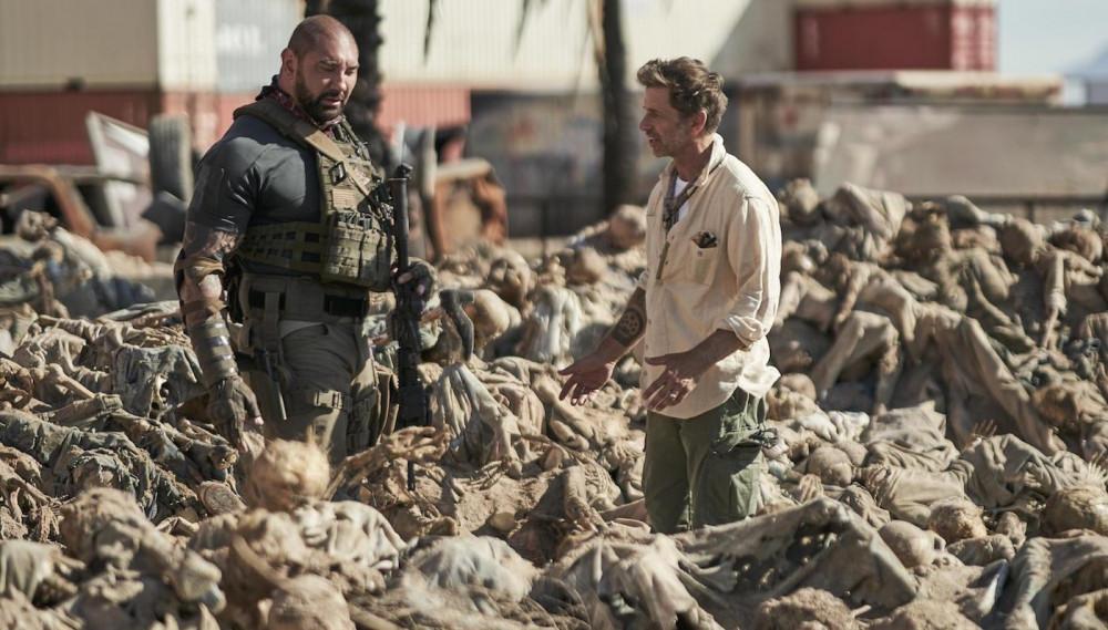 Hình ảnh trong bộ phim Army of the dead.