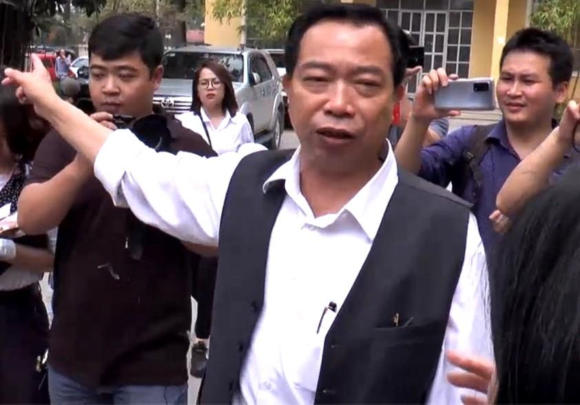 Ông Vương Văn Tịnh quay trở lại làm việc bình thường