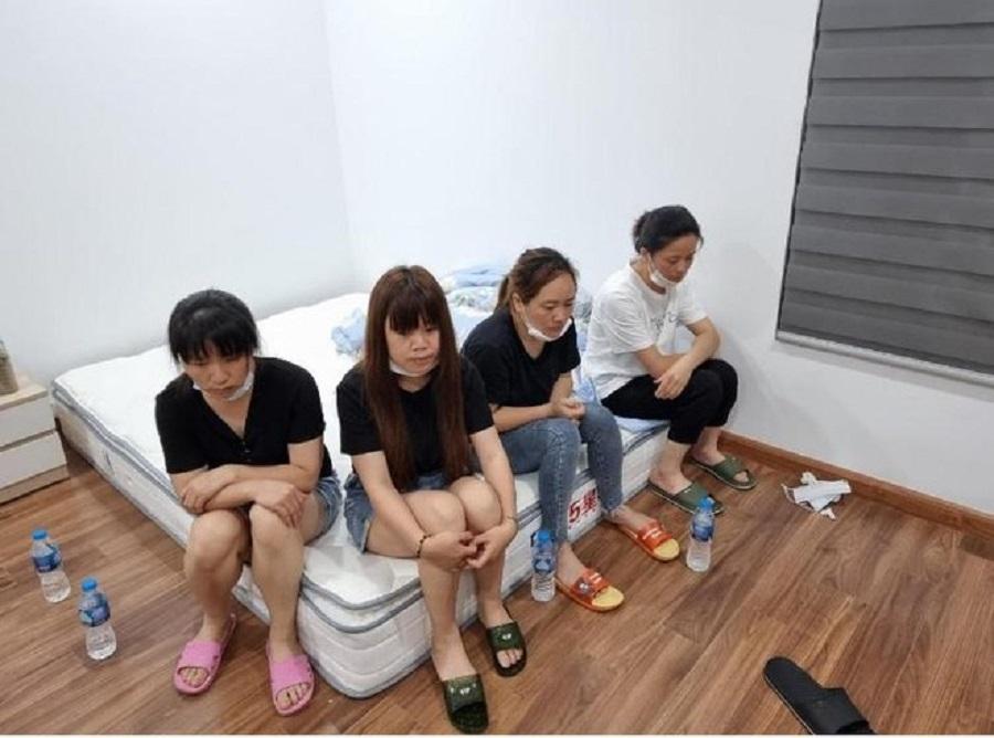 Nhóm người Trung Quốc nhập cảnh trái phép