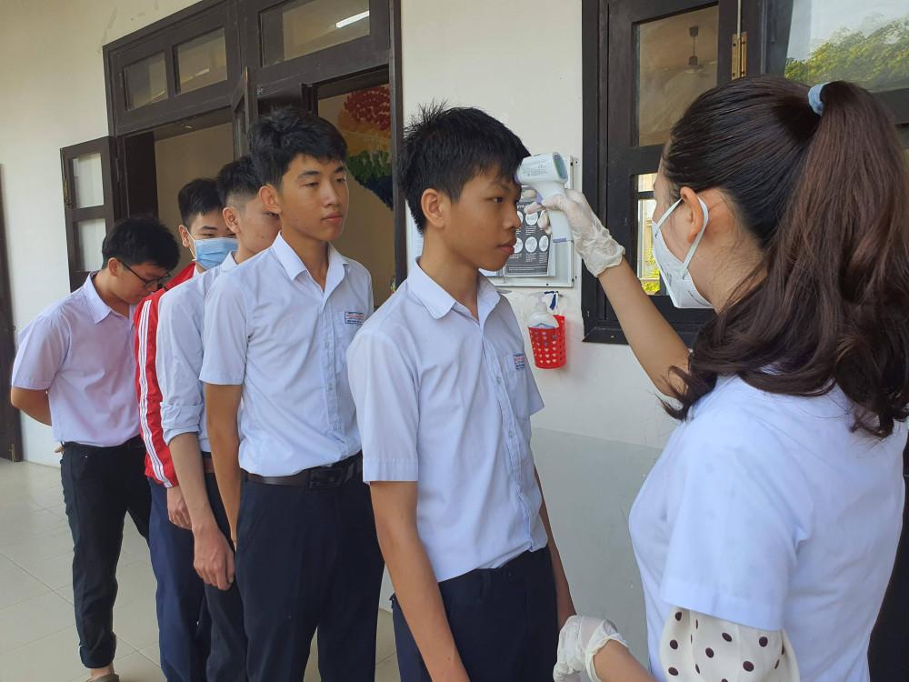 Học sinh các cấp trên địa bàn tỉnh Quảng Nam được phép đi học trở lại vào ngày mai 6/5 (trừ TP. Hội An)