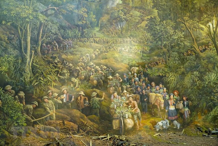 Ngày 7/5 tới đây là kỷ niệm 67 năm chiến thắng Điện Biên Phủ. Một trong những hoạt động nổi bật là việc giới thiệu bức tranh panorama tái hiện toàn cảnh chiến dịch Điện Biên Phủ.