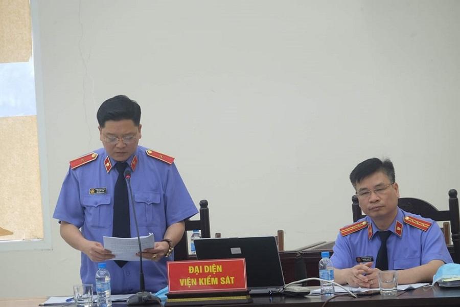 Đại diện Viện KSND tại tòa
