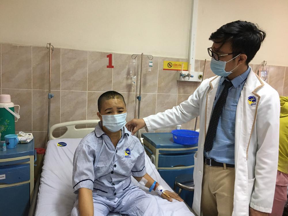 Bệnh nhân đã phục hồi sức khỏe sau khi mổ