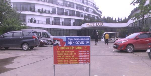 Khách sạn Pao's Sa Pa đã được phong tỏa.