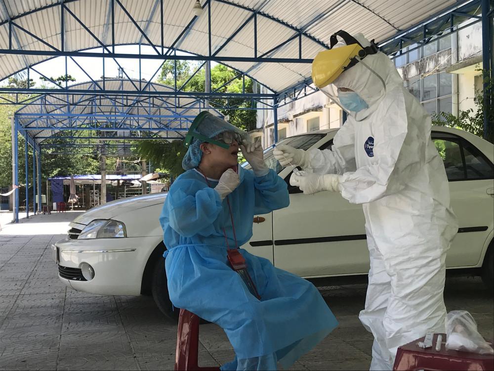 Tỉnh Quảng Ngãi có ca bệnh dương tính lần 1 với ncov