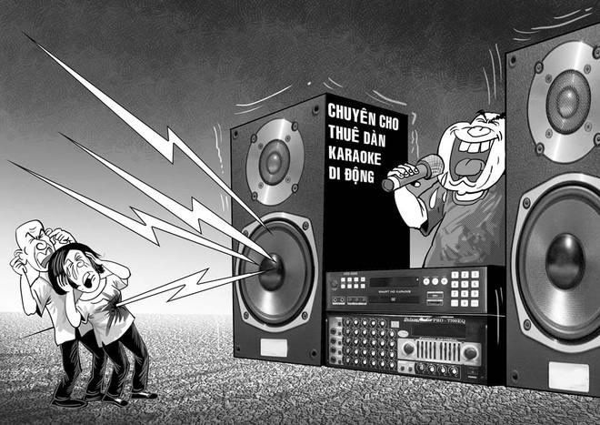 Tiếng ồn từ karaoke tự phát gây đau đầu cho người dân và cơ quan chức năng tồn tại nhiều năm qua tại TPHCM