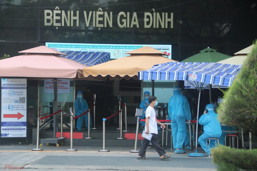 Bệnh viện Gia Đình đang cấp tốc phòng chống dịch sau khi phát hiện nữ nhân viên Thẩm mỹ viện Quốc tế AMIDA tới khám và dương tính với SARS-CoV-2