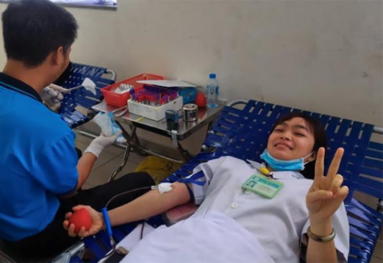 Hiến máu nhân đạo tại BV Chợ Rẫy