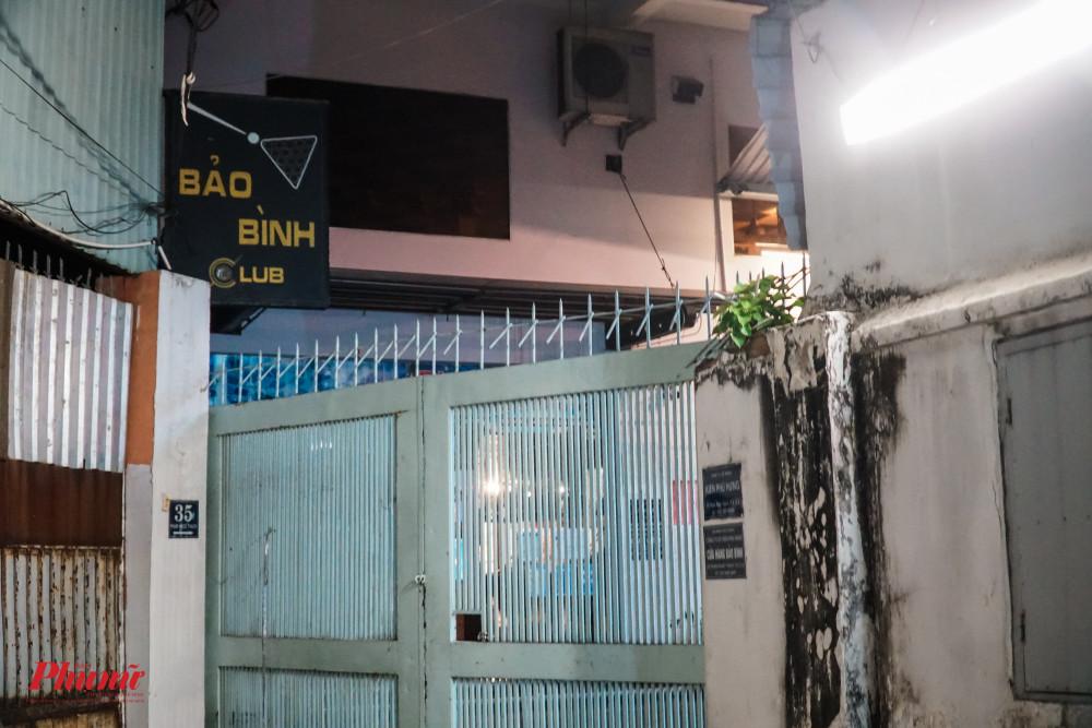 Kể cả những câu lạc bộ billiards nằm tận trong hẻm cũng đã chấp hành nghiêm lệnh cấm của UBND TP