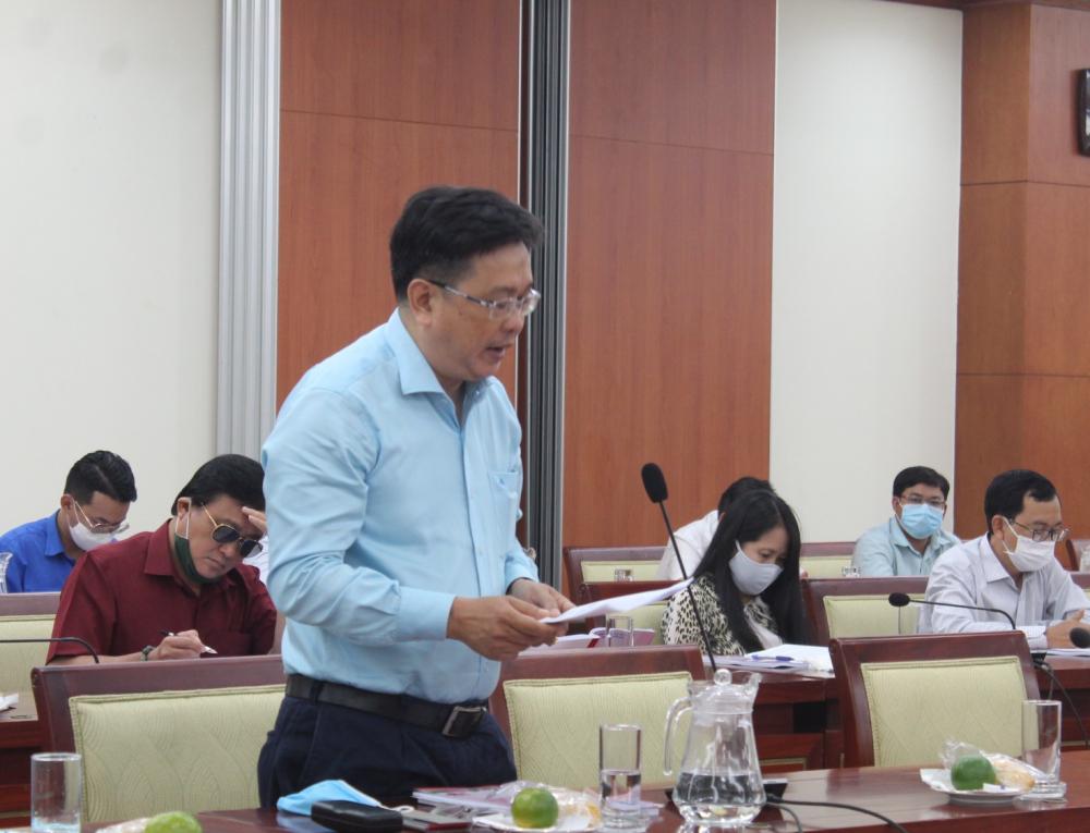 Th.S Thạch Kim Hiếu nêu nhiều giải pháp cụ thể để xây dựng không gian văn hóa Hồ Chí Minh.