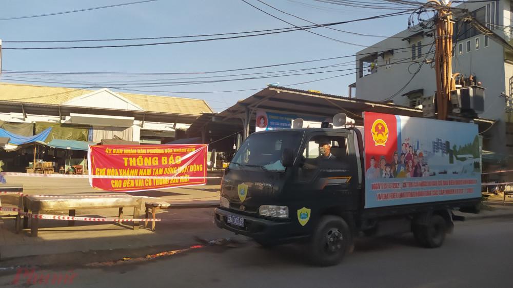 Chợ Hòa Khánh Nam đã được đóng để phòng dịch