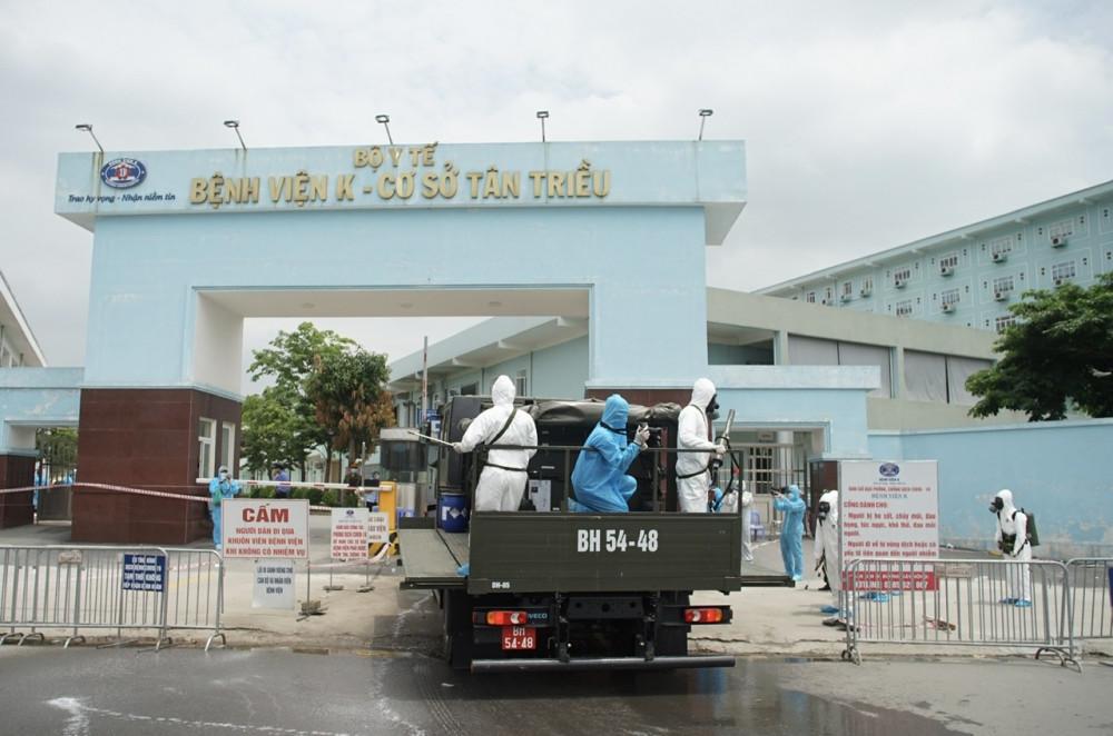 Bệnh viện K ghi nhận thêm 1 bệnh nhân dương tính với virus SARS-CoV-2