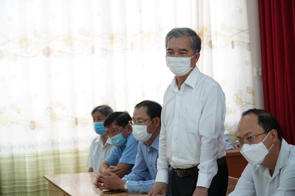Ông Ngô Minh Châu - Phó chủ tịch UBND TPHCM đề nghị rà soát lại các cơ sở kinh doanh kết hợp nhà ở trên địa bàn