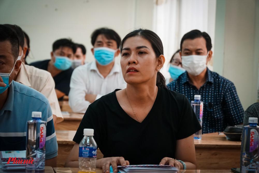 Chị Nguyễn Thị Hồng Vương, người thân gia đình bị nạn, gửi lời xin lỗi đến xã hội vì