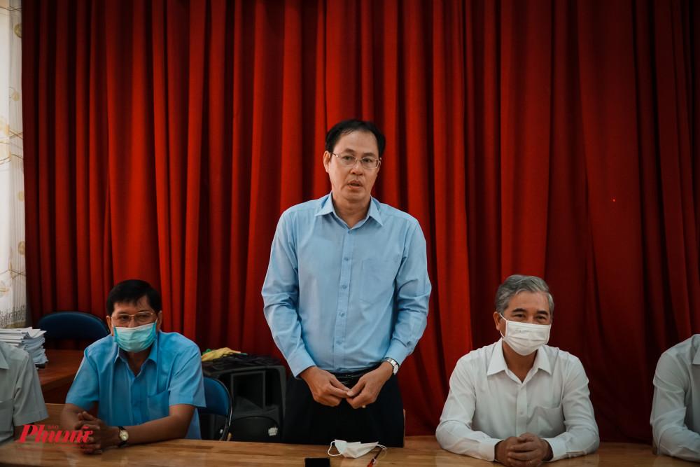 ông Nguyễn Thành Trung - Phó Chủ tịch Thường trực MTTQ Việt Nam TPHCM