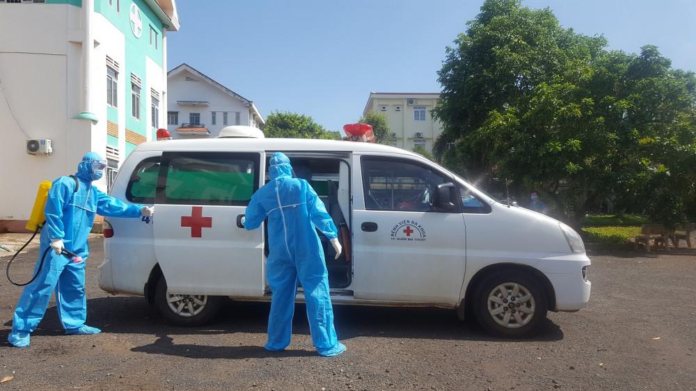 Tỉnh Đắk Lắk vẫn đang nỗ lực thực hiện nghiêm các biện pháp phòng chống dịch COVID-19