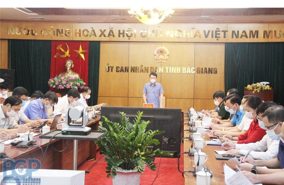 16 ca nhiễm mới, Bắc Giang họp khẩn - Ảnh: bacgiang.gov.vn