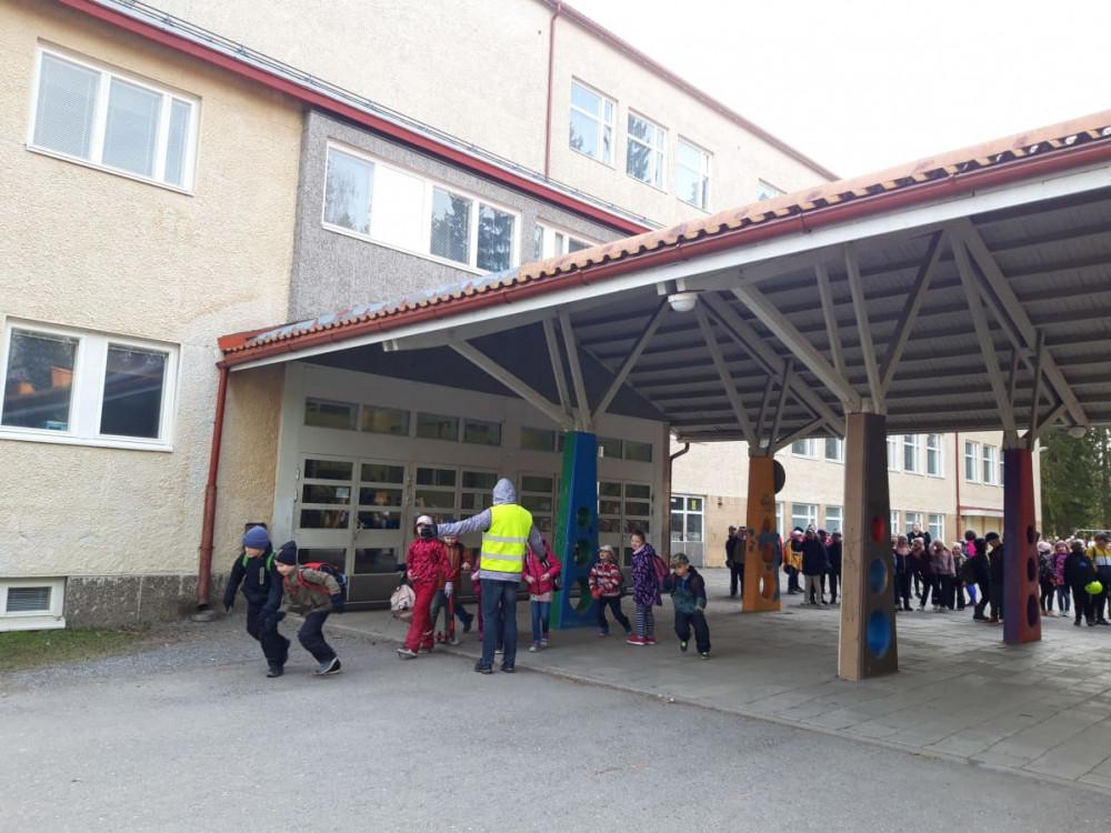 Trường Könönpello được bình chọn là ''Ngôi trường của năm 2021'' - Ảnh: Yle