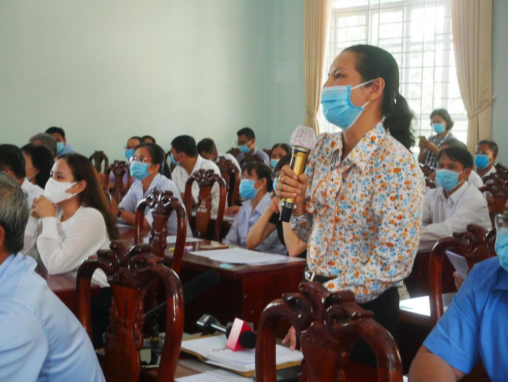 Cử tri bày tỏ niềm vui và đánh giá cao sự tâm huyết của các ứng cử viên qua chương trình hành động