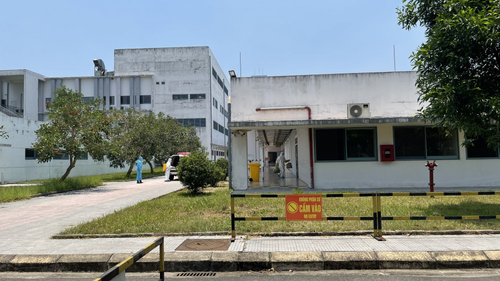 Khu vực cách ly Bệnh nhân COVID-19 tại Cơ sở 2- Bệnh viện Trung ương Huế