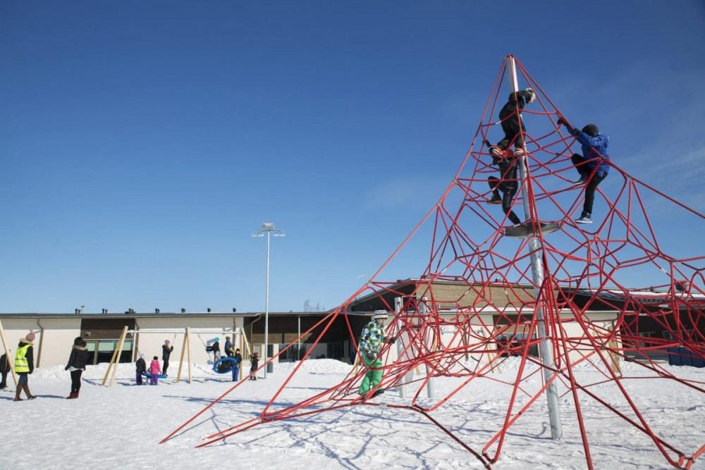 Học sinh Phần Lan xem trường học là nơi thật sự an toàn - Ảnh: globaleducationparkfinland