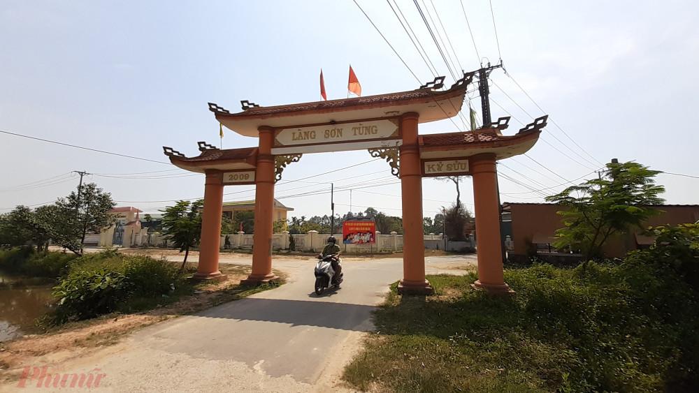 Làng Sơn Tùng nơi ca bệnh nhiễm COVID-19 thứ 2 tại Huế từng trở về nhà