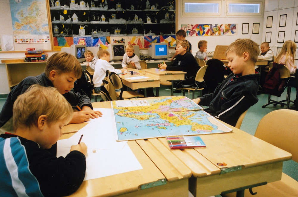 Phương pháp tiếp cận liên ngành đang được Phần Lan áp dụng vào các bài học thay vì phải học từng môn riêng lẽ như trước - Ảnh: iseworld