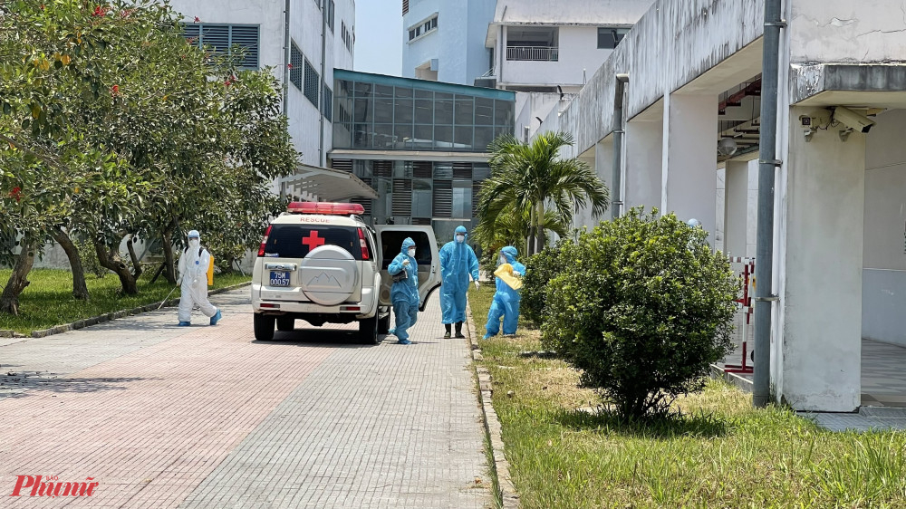 Bệnh nhân H.T.N.C đã được đưa vào điều trị cách ly tại Cơ sở 2 Bệnh viện Trung ương Huế