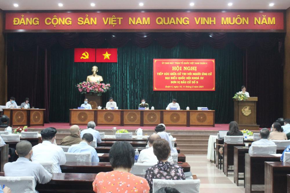 Hội nghị tiếp xúc cử tri chiều 10/5 thu được 16 ý kiến góp ý trên nhiều lĩnh vực.