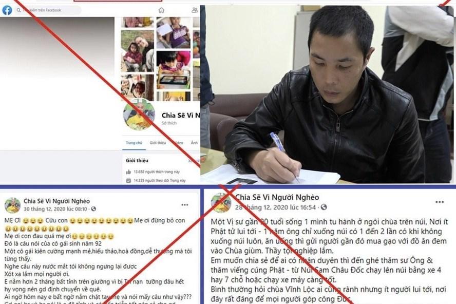 Công an cảnh báo thủ đoạn lừa đảo lập Fanpage kêu gọi từ thiện