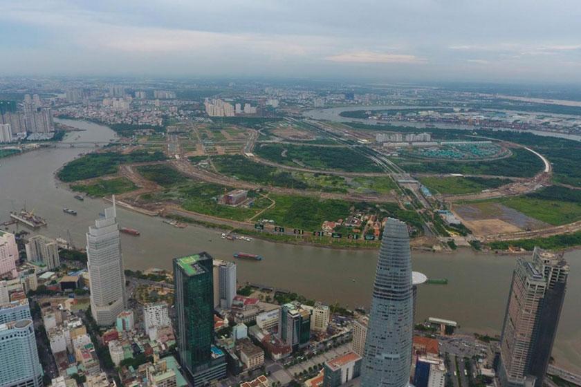 TPHCM đấu giá quyền sử dụng đất hơn 30.000 m2 đất trong Khu đô thị mới Thủ Thiêm