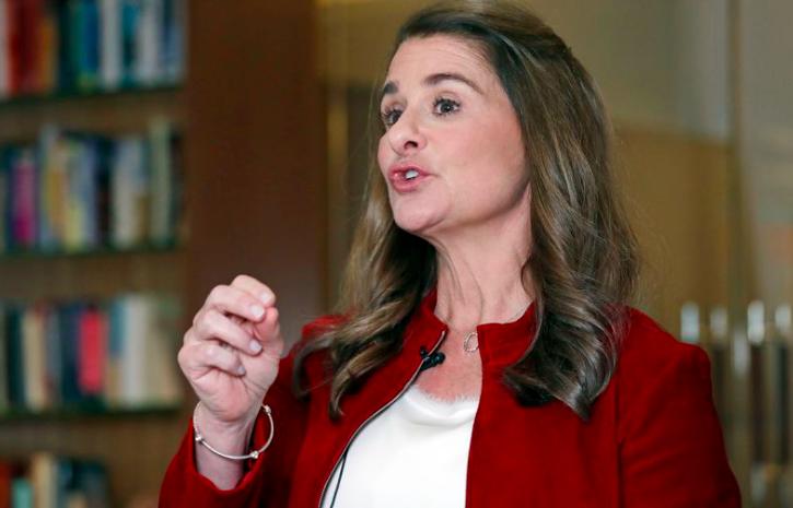 Melinda Gates trong một cuộc phỏng vấn tại Kirkland, Wash., Vào tháng 2 năm 2019. (Elaine Thompson)