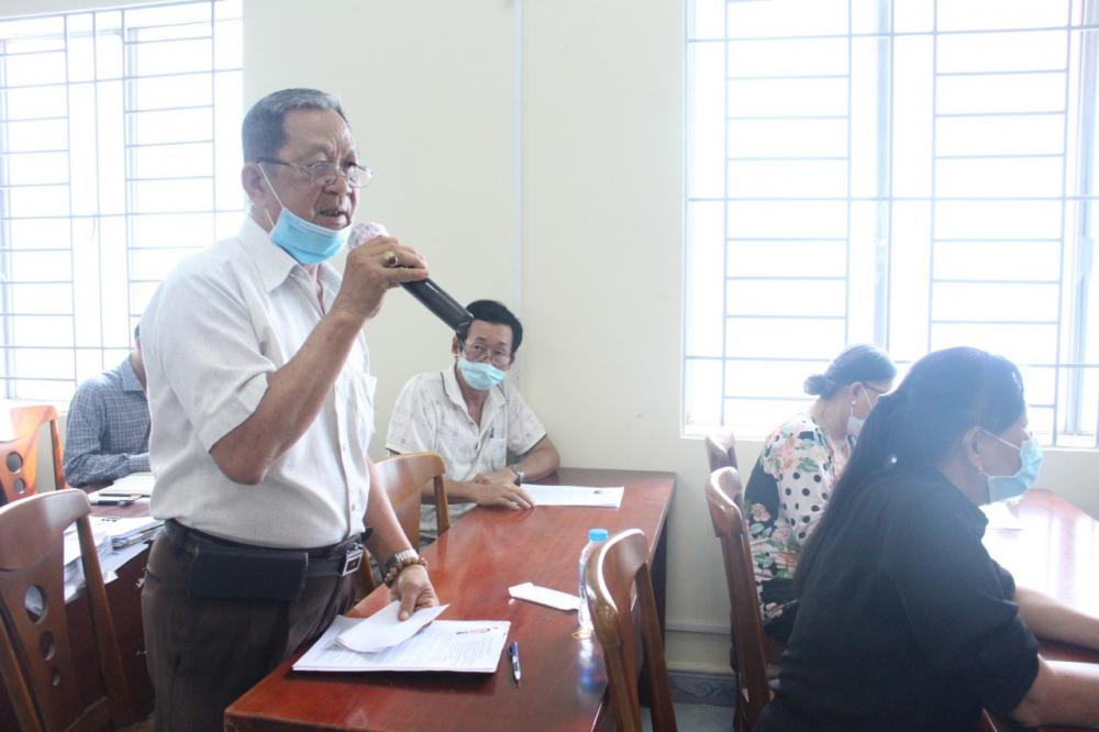 Cử tri Nguyễn Văn Tốt mong các đại biểu đã hứa thì phải làm!