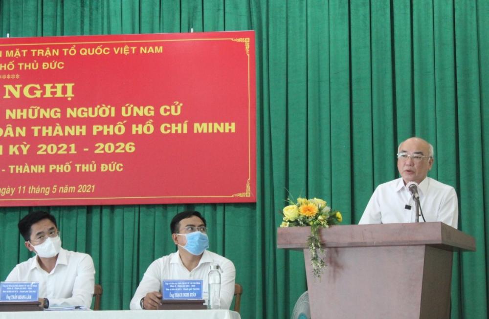 Ông Phan Nguyễn Như Khuê hứa thúc đẩy phát triển các thiết chế văn hóa phục vụ người dân từ TP đến cơ sở.