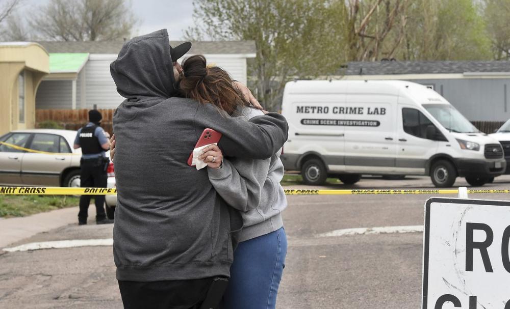 Một tay súng đã nổ súng tại bữa tiệc sinh nhật của một gia đình ở Colorado Springs hôm 9/5, làm 6 người thiệt mạng - Ảnh: NY Daily News