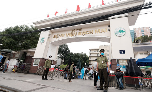 19 nhân viên y tế của Bệnh viện Bạch Mai đã có kết quả xét nghiệm âm tính
