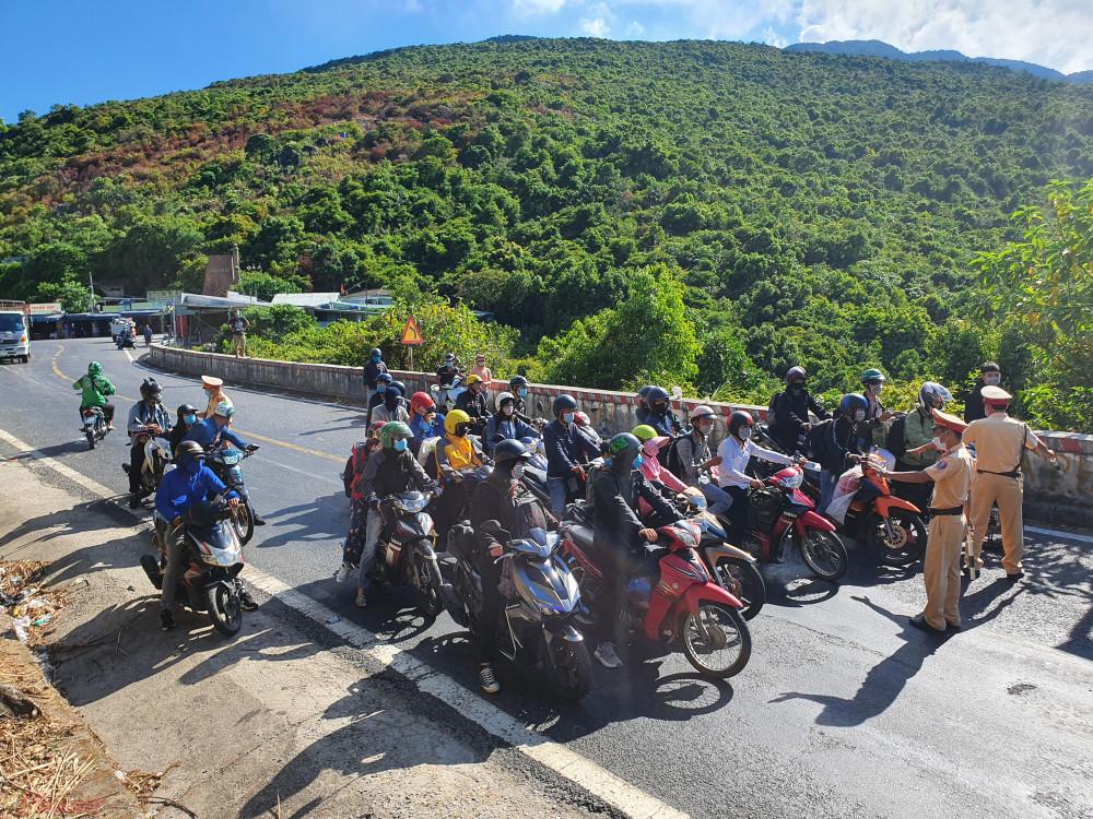 Vận tải khách giữa Đà Nẵng và Thừa Thiên Huế đã được hai tỉnh thành áp lệnh hạn chế