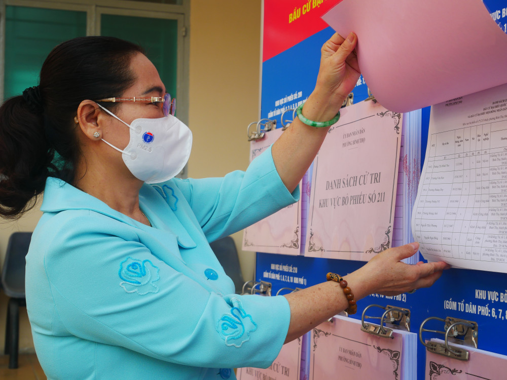 Phó Bí thư Thành ủy, Chủ tịch HĐND TPHCM, Chủ tịch Ủy ban Bầu cử TPHCM cho rằng, công tác tổ chức bầu cử tại TP.Thủ Đức gắn với dịch bệnh
