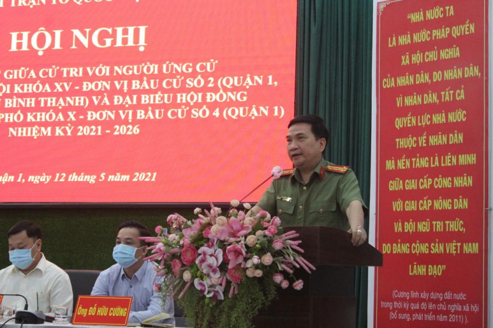 Đại tá Nguyễn Sỹ Quang cho biết cần những giải pháp căn cơ về mặt xã hội để kéo giảm tội phạm truyền thống trong mùa dịch COVID-19.