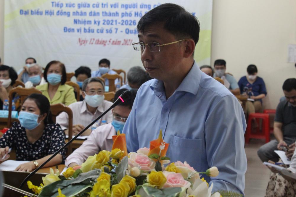 Ông Trần Nam Đức quan tâm các chính sách hài hòa quyền lợi cộng đồng các dân tộc ở TP.