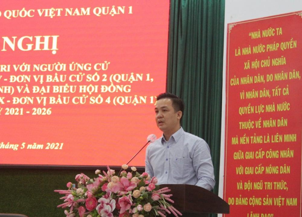 Ông Hứa Quốc Hưng cho biết về các chính sách hỗ trợ doanh nghiệp trong dịch COVID-19.