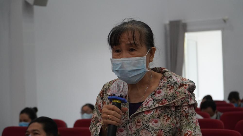 Cử tri đại diện cho tiếng nói các tiểu thương ở quận 1 mong muốn các cấp chính quyền có chính sách hỗ trợ vượt qua dịch COVID-19.
