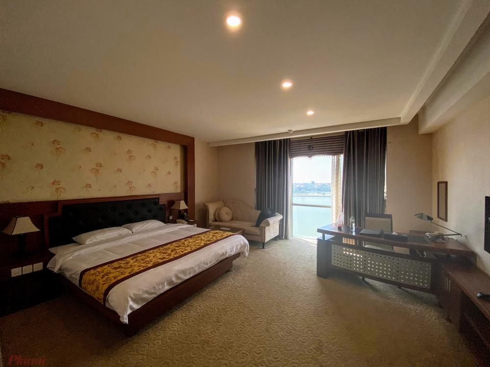 Một không gian khách sạn tại TP. Việt Trì, tỉnh Phú Thọ. Ảnh: Quốc Thái