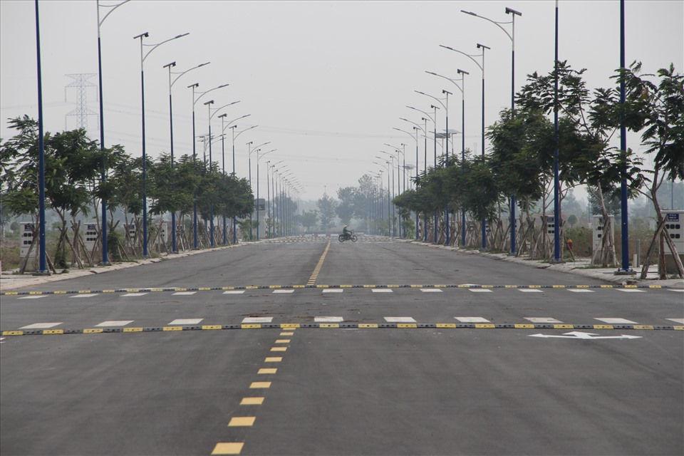 Đất tại khu nhà ở Đại Nam thuộc phường Phú Tân, thành phố Thủ Dầu Một mà ông Huỳnh Uy Dũng muốn hiến tặng