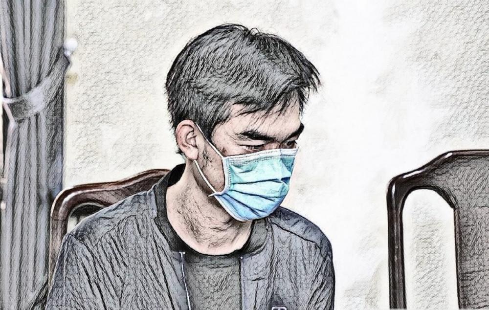 Nguyễn Đình Hùng  tại cơ quan công an