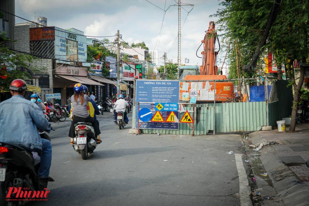 Trong thời gian thi công dự án, Sở GTVT TPHCM sẽ điều chỉnh giao thông ở nhiều tuyến đường.