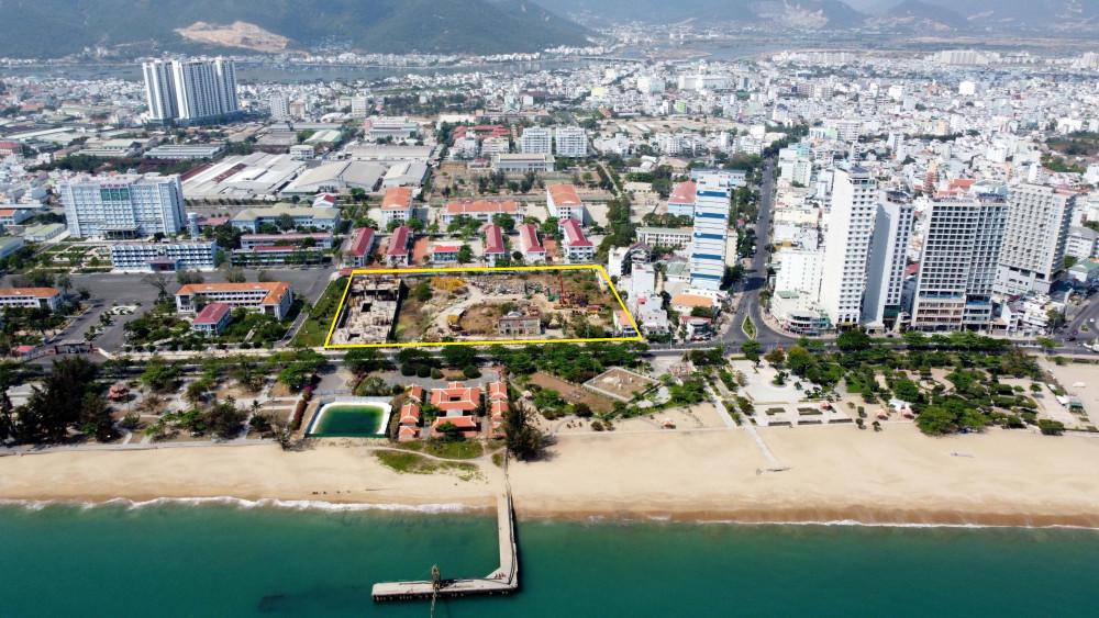 Dự án Nha Trang Golden Gate có vị trí đắc địa khi có mặt tiền là con đường ven biển Trần Phú đẹp nhất thành phố Nha Trang. Ảnh: Đ.N