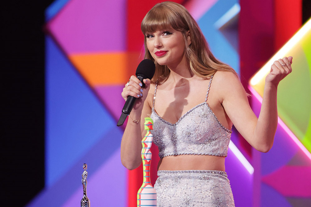 Taylor Swift được vinh danh là Biểu tượng toàn cầu