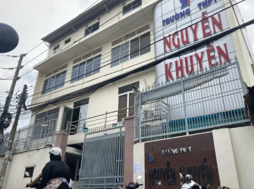 Trường THPT Nguyễn Khuyến (ảnh: NLĐ)